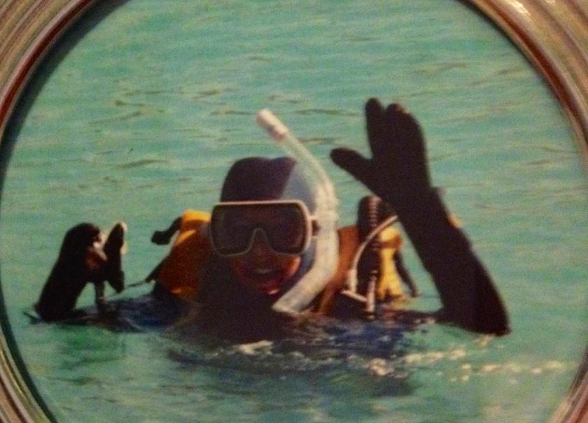 Final test for scuba certification 1987