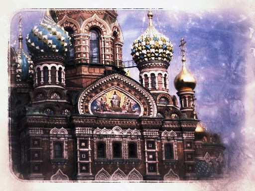 Church of the Spilled Blood    St. Petersburg, Russia 2001