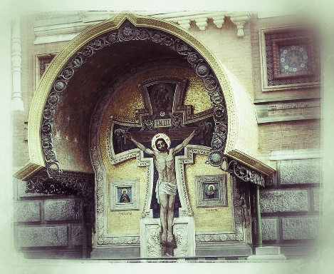 Jesus Christ  Church of the Spilled Blood St. Petersburg, Russia 2001