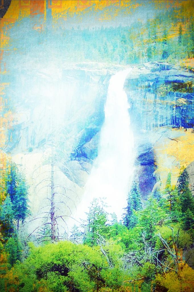 Verna Falls Yosemite Park, Enjoyed hike going. Coming back not so fun.