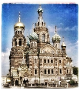 Church of the Spilled Blood St. Petersburg, Russia