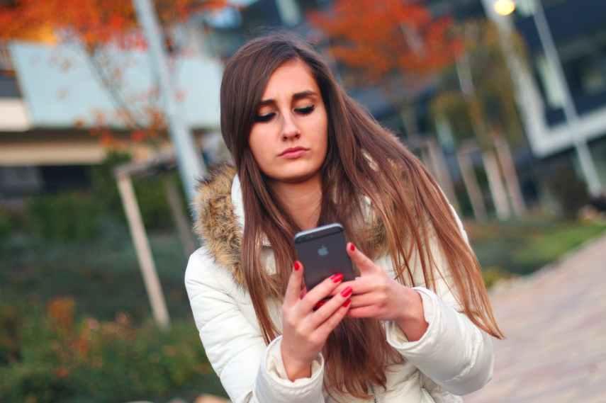 affair apple girl iphone