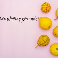 October Chronic Illness Writing Prompts